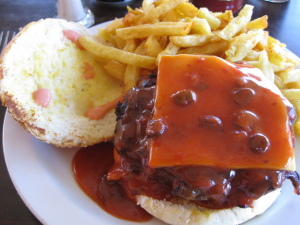 South Africa Burger